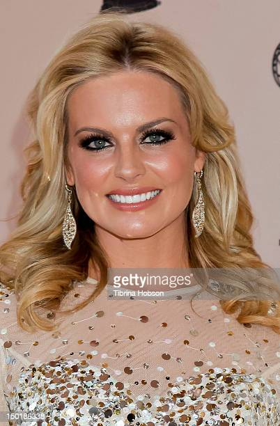 Courtney Friel attends The Academy of Television Arts Sciences 64th Los Angeles area EMMY Awards at Leonard H Goldenson Theatre on August 11 2012 in...