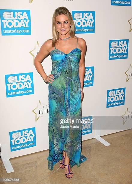 Courtney Friel during USA Today Inaugural Hollywood Hero Award Gala Honoring Zina Bethune at Beverly Hilton Hotel in Beverly Hills California United...