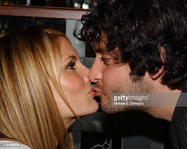 Courtney Hansen and Ben Gleib during Collegehumorcom Presents Comedy Juice at The Hollywood Improv at The Hollywood Improv in Hollywood California...