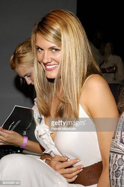 Courtney Hansen attends NINE WEST FASHION SHOW at Skylight Studios on May 31 2006 in New York City
