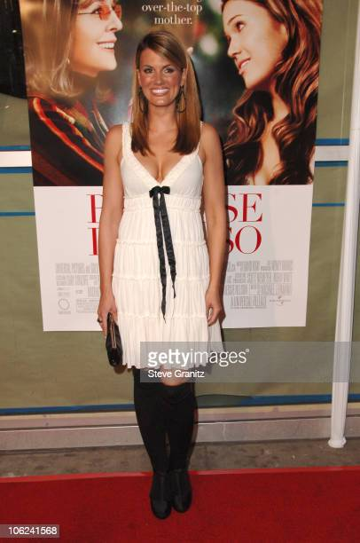 Courtney Hansen during Because I Said So Los Angeles Premiere Arrivals at Arclight Theater in Los Angeles California United States