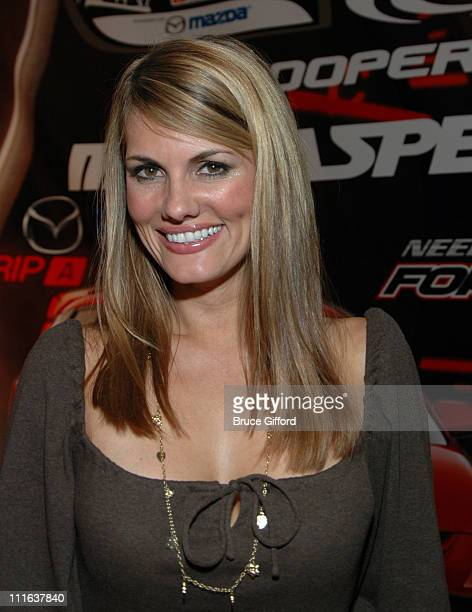 Courtney Hansen during MazdaSpeed3 Launch Party November 2 2006 at Poolside at the Hard Rock Hotel Casino in Las Vegas California United States