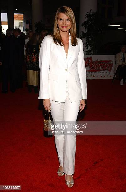 Courtney Hansen during Petersen Automotive Museum 10Year Anniversary Gala at Petersen Museum in Los Angeles California United States
