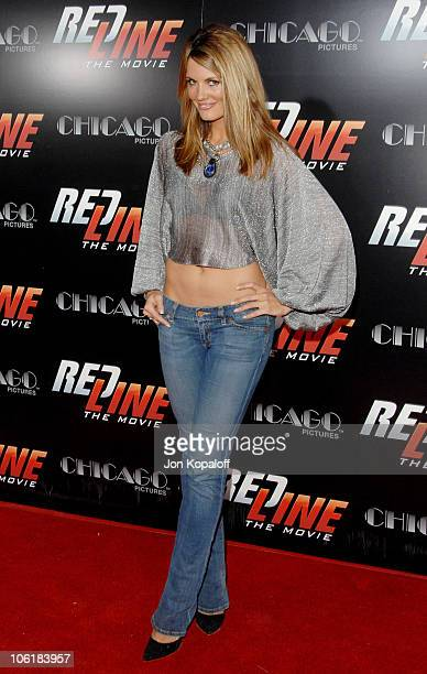 Courtney Hansen during Redline Los Angeles Premiere Arrivals at Grauman's Chinese Theater in Hollywood California United States