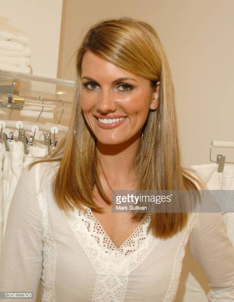 Courtney Hansen during Ron Herman Summer White Party at Ron Herman Store in Beverly Hills CA United States