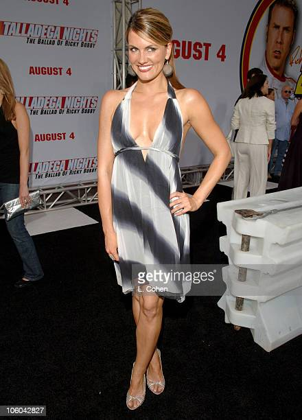 Courtney Hansen during Talladega Nights The Ballad of Ricky Bobby Red Carpet at Mann's Grauman Chinese Theater in Los Angeles California United States