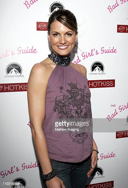 Courtney Hansen during The Bad Girl's Guide Premiere Party sponsored by Hot Kiss at Beauty Bar in Hollywood California United States