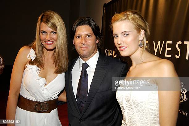 Courtney Hansen Mark Beckman and Maggie Grace attend NINE WEST FASHION SHOW at Skylight Studios on May 31 2006 in New York City