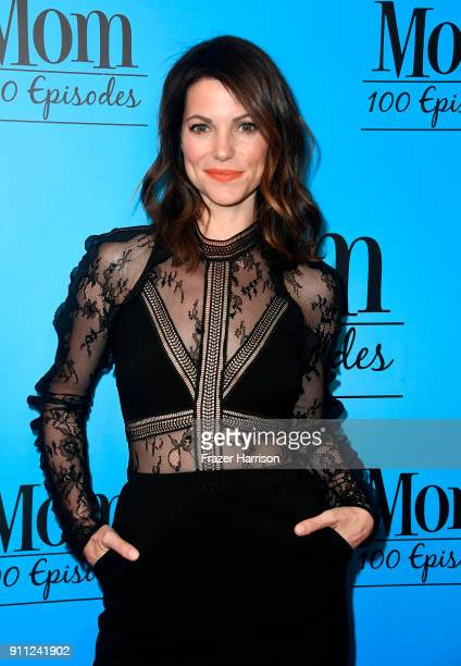 Courtney Henggeler attends CBS And Warner Bros Television's Mom Celebrates 100 Episodes at TAO Hollywood on January 27 2018 in Los Angeles California