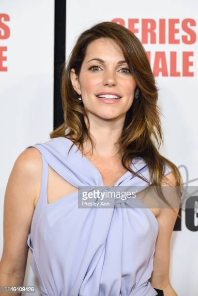 Courtney Henggeler attends series finale party for CBS' The Big Bang Theory at The Langham Huntington Pasadena on May 01 2019 in Pasadena California