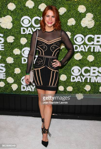 Courtney Hope attends the CBS Daytime Emmy After Party on April 29 2018 in Pasadena California