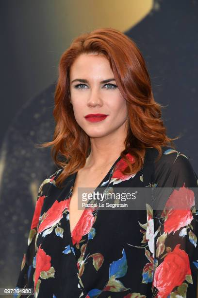 Courtney Hope from 'The bold and the beautiful' attends a photocall during the 57th Monte Carlo TV Festival Day 3 on June 18 2017 in MonteCarlo Monaco