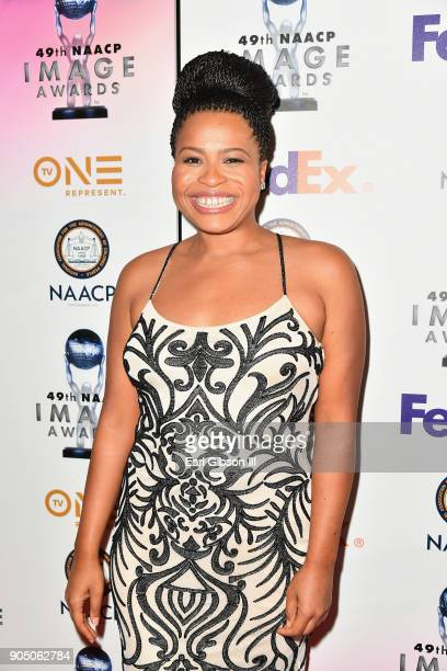 Courtney Kemp Agboh at the 49th NAACP Image Awards NonTelevised Awards Dinner at the Pasadena Conference Center on January 14 2018 in Pasadena...