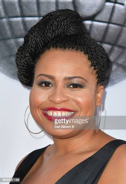 Courtney Kemp Agboh at the 49th NAACP Image Awards on January 15 2018 in Pasadena California
