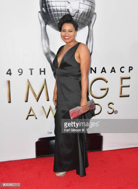 Courtney Kemp Agboh at the 49th NAACP Image Awards on January 15, 2018 in Pasadena, California.