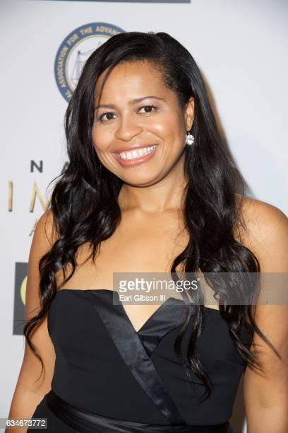 Courtney Kemp attends the 48th NAACP Image Awards Non-Televised Awards Dinner at Pasadena Convention Center on February 10, 2017 in Pasadena,...