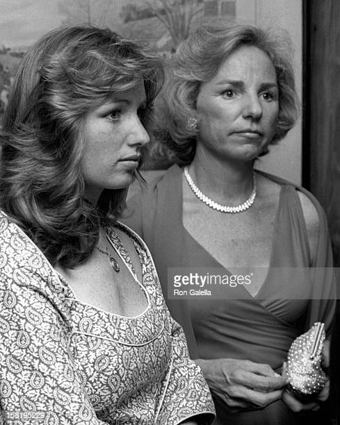 Courtney Kennedy and Ethel Kennedy attend John Tunney Benefit Party on March 11 1977 at the Beverly Hills Hotel in Beverly Hills California