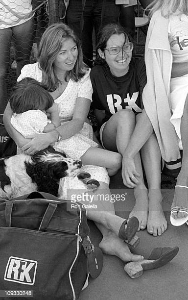 Courtney Kennedy Kathleen Kennedy and daughter Meaghan Anne Kennedy Townsend and Ethel Kennedy attend Robert F Kennedy ProCelebrity Tennis Tournament...