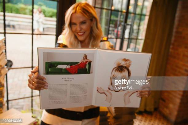 Courtney Kerr attends the LIKEtoKNOWit official book launch celebration during NYFW at The Bowery Hotel on September 8 2018 in New York City