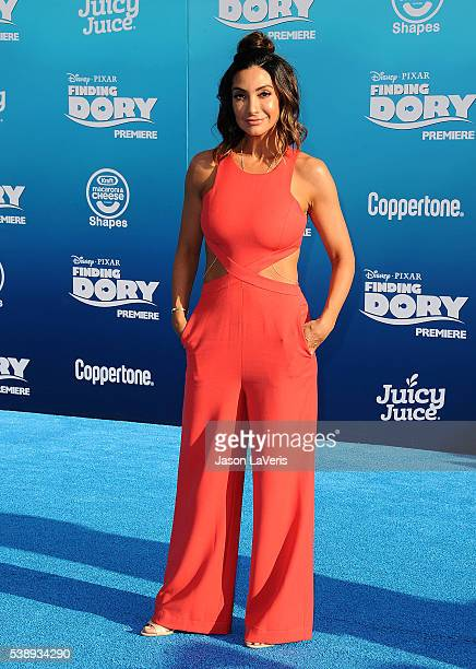 Courtney Laine Mazza attends the premiere of 'Finding Dory' at the El Capitan Theatre on June 8 2016 in Hollywood California