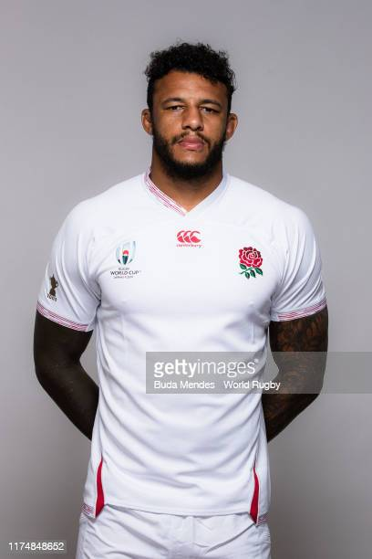 Courtney Lawes of England poses for a portrait during the England Rugby World Cup 2019 squad photo call on September 15 2019 in Miyazaki Japan