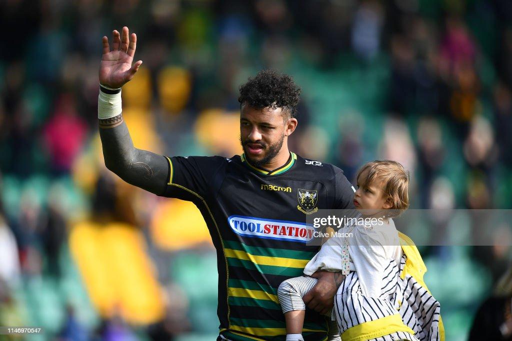 Northampton Saints v Worcester Warriors - Gallagher Premiership Rugby : News Photo