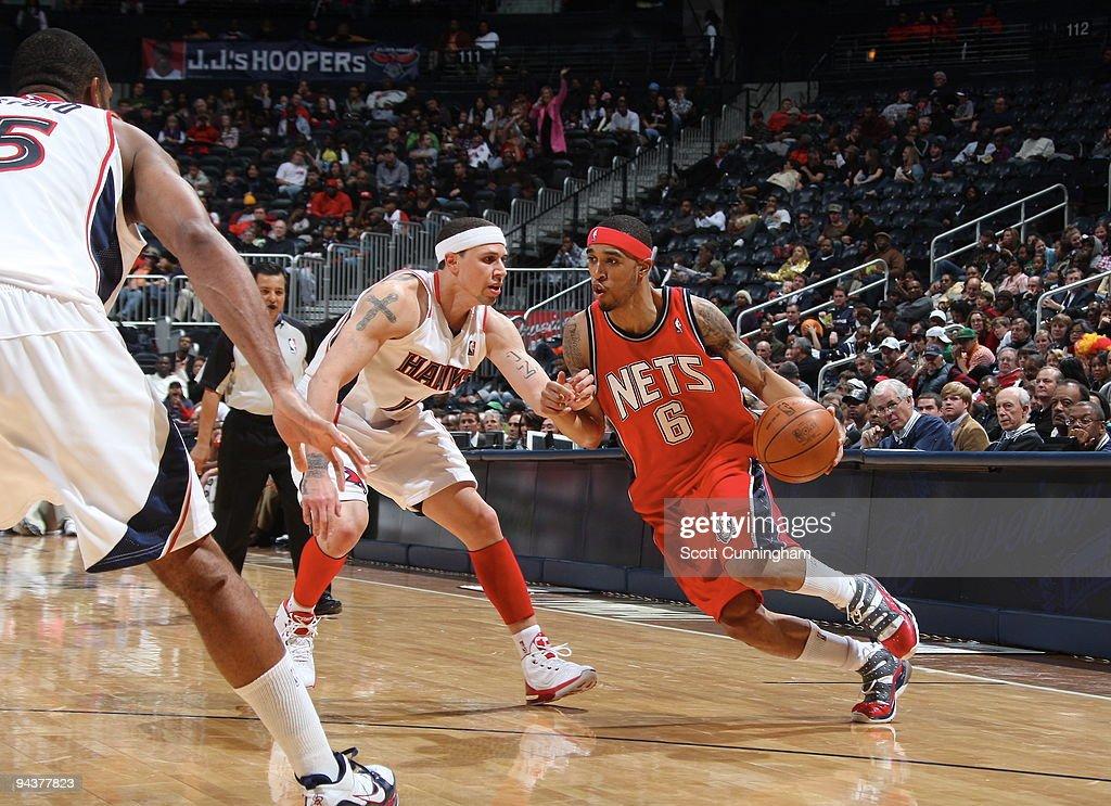 New Jersey Nets v Atlanta Hawks : News Photo