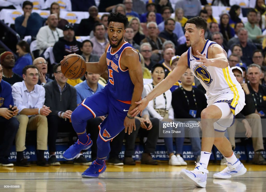 New York Knicks v Golden State Warriors