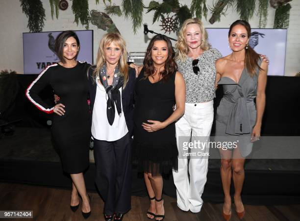 Courtney Lopez Rosanna Arquette Eva Longoria Melanie Griffith and Brooke Burke attend the Global Gift Foundation USA Women's Empowerment Luncheon at...
