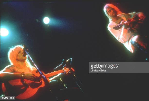 September 8: Courtney Love and Kurt Cobain, both on acoustic guitar, perform together for Rock Against Rape at Club Lingerie in Hollywood on...