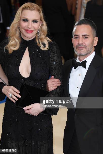 Courtney Love and Marc Jacobs attend 'Rei Kawakubo/Comme des Garcons Art Of The InBetween' Costume Institute Gala Arrivals at Metropolitan Museum of...