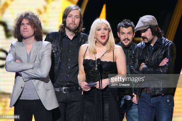 Courtney Love and the Killers present Artist of the Year