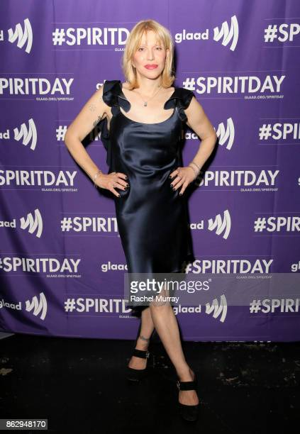 Courtney Love at Justin Tranter And GLAAD Present 'Believer' Spirit Day Concert at Sayer's Club on October 18 2017 in Los Angeles California