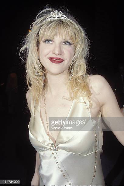 Courtney Love attending the 1995 Vanity Fair Oscars Party at Morton's Restaurant in Beverly Hills CA 03/27/99