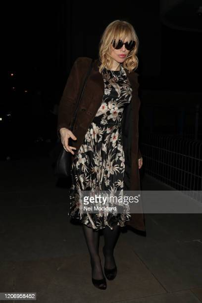 Courtney Love attends a Love Magazine Party at The Standard Hotel during LFW February 2020 on February 17 2020 in London England