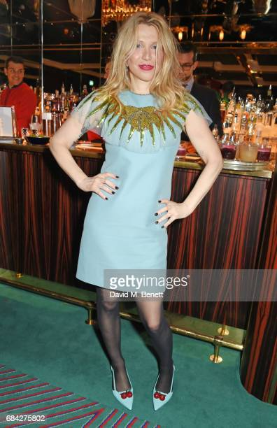 Courtney Love attends a private dinner celebrating the launch of the KATE MOSS X ARA VARTANIAN collection at Isabel on May 17 2017 in London England