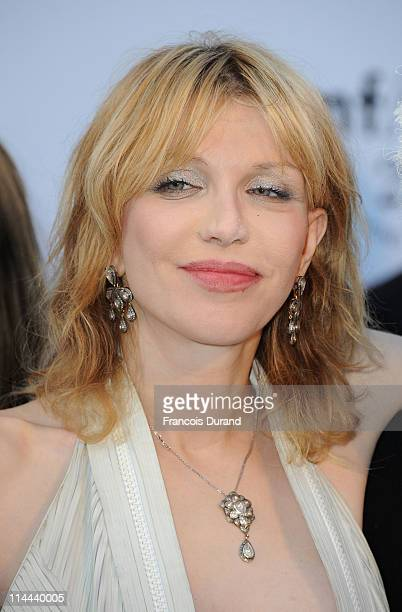 Courtney Love attends amfAR's Cinema Against AIDS Gala during the 64th Annual Cannes Film Festival at Hotel Du Cap on May 19 2011 in Antibes France