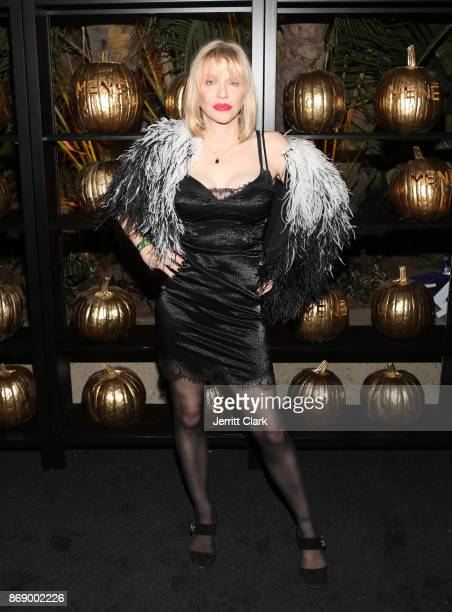 Courtney Love attends Darren Dzienciol and Alessandra Ambrosio's Halloween Bash on October 31 2017 in Los Angeles California