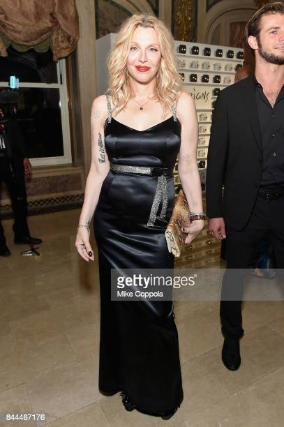 Courtney Love attends Harper's BAZAAR Celebration of ICONS By Carine Roitfeld at The Plaza Hotel presented by Infor Laura Mercier Stella Artois...