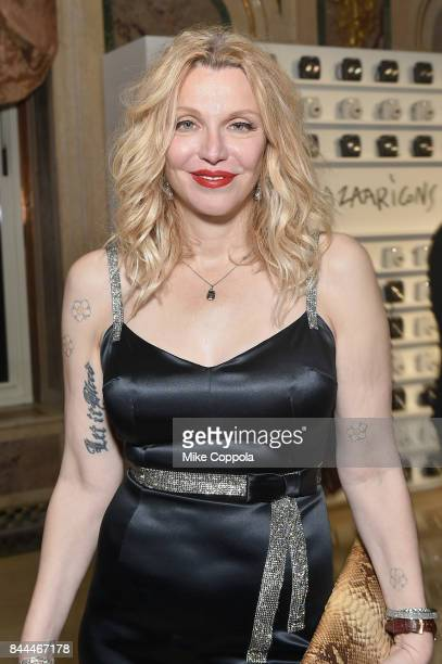 Courtney Love attends Harper's BAZAAR Celebration of 'ICONS By Carine Roitfeld' at The Plaza Hotel presented by Infor Laura Mercier Stella Artois...