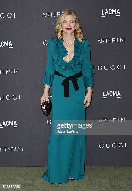 Courtney Love attends the 2016 LACMA Art Film gala at LACMA on October 29 2016 in Los Angeles California