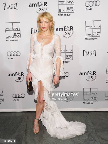 Courtney Love attends the 2nd Annual amfAR Inspiration Gala at The Museum of Modern Art on June 14, 2011 in New York City.