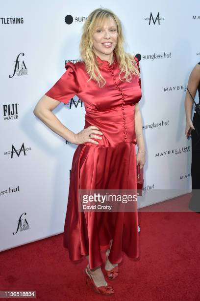 Courtney Love attends The Daily Front Row Fifth Annual Fashion Los Angeles Awards at Beverly Hills Hotel on March 17 2019 in Beverly Hills California