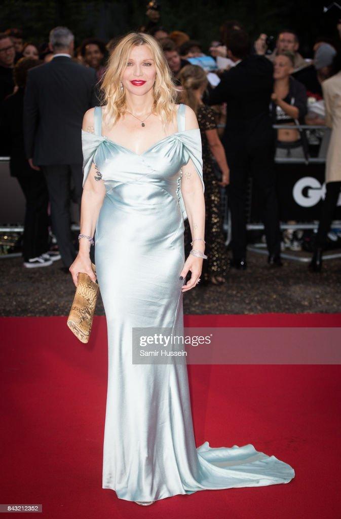 Courtney Love attends the GQ Men Of The Year Awards at Tate Modern on September 5, 2017 in London, England.