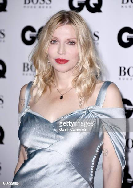 Courtney Love attends the GQ Men Of The Year Awards at the Tate Modern on September 5 2017 in London England