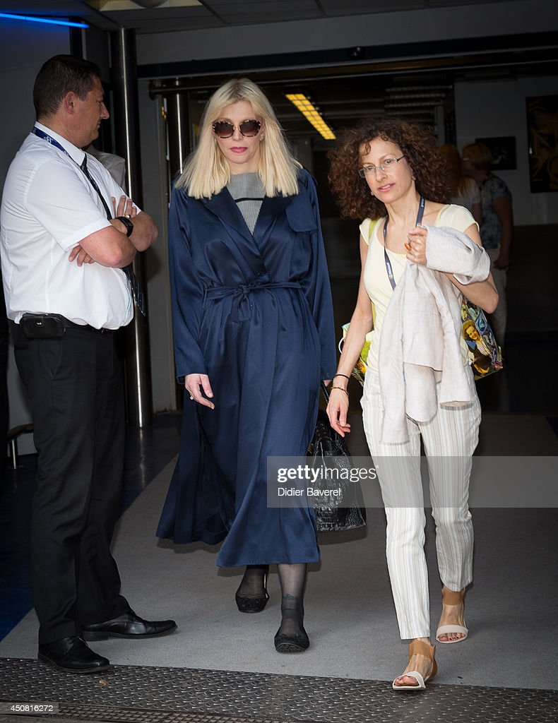 Courtney Love attends the 'Grey Seminar' at the 2014 Cannes Lions on June 18, 2014 in Cannes, France.