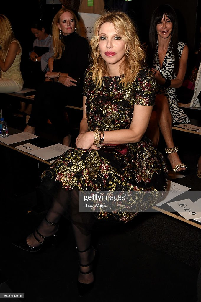 NY: Marchesa - Front Row - September 2016 - New York Fashion Week: The Shows