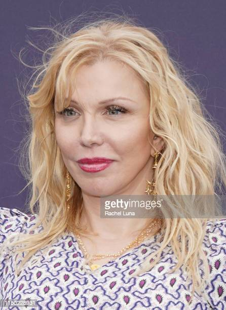 Courtney Love attends the MOCA Benefit 2019 at The Geffen Contemporary at MOCA on May 18 2019 in Los Angeles California