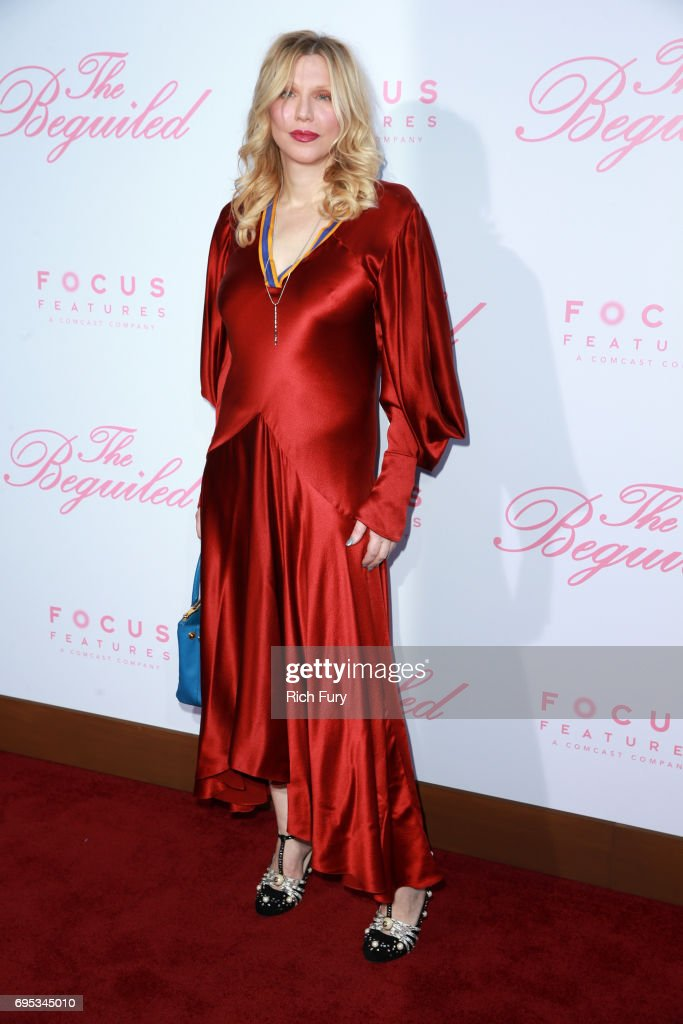 Courtney Love attends the premiere of Focus Features' 'The Beguiled' at the Directors Guild of America on June 12, 2017 in Los Angeles, California.