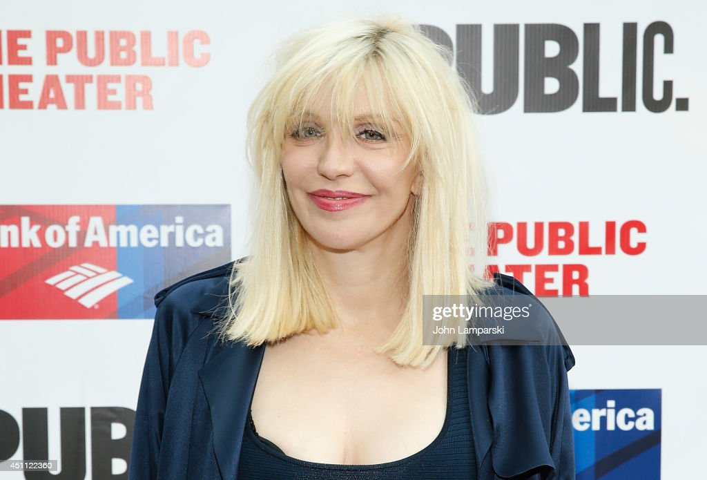 Courtney Love attends the Public Theater's 2014 Gala celebrating 'One Thrilling Combination' on June 23, 2014 in New York, United States.
